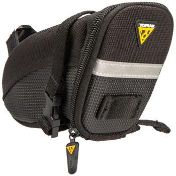 Topeak Aero Wedge Seat Bag: SM, Black