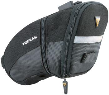 Topeak Aero Wedge Seat Bag: Large, Black