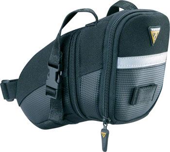 Topeak Aero Wedge Seat Bag: MD, Black