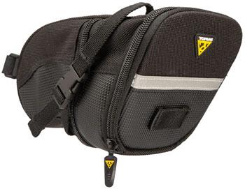 Topeak Aero Wedge Seat Bag: LG, Black