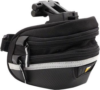 Topeak Survival Wedge Pack II Seat Bag with Tool Kit  and Mount, Black