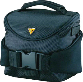 Topeak Compact Handlebar Bag/Fanny Pack with Fixer 8, Black