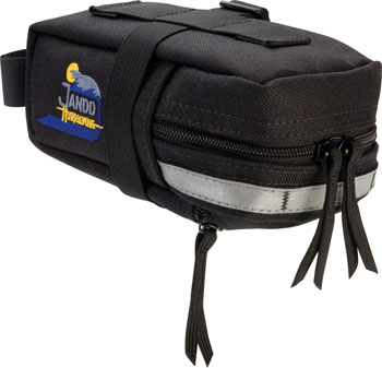 Jandd Hurricane Mini Mountain Wedge Seat Bag: Black