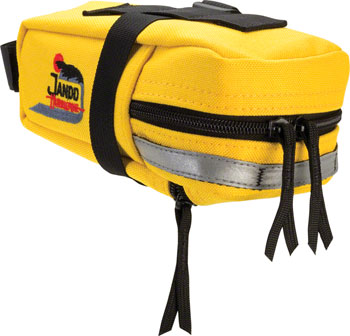 Jandd Hurricane Mini Mountain Wedge Seat Bag: Yellow