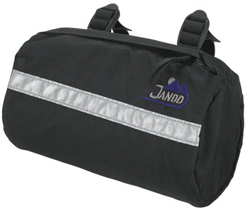 Jandd Bike Bag: Black