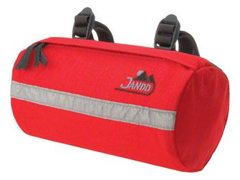 Jandd Bike Seat Bag: Red