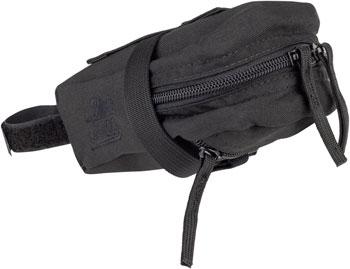 Jandd Mini Mountain Wedge Seat Bag: Black