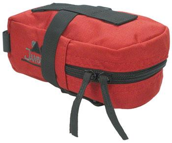 Jandd Mini Mountain Wedge Seat Bag: Red