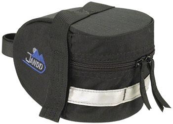 Jandd Mountain Wedge 1 Seat Bag: Black