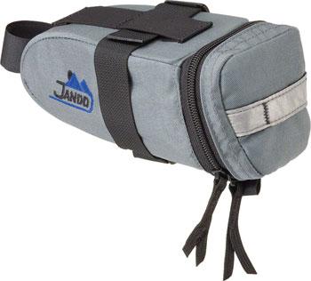 Jandd Mountain Wedge 2 Seat Bag: Gray