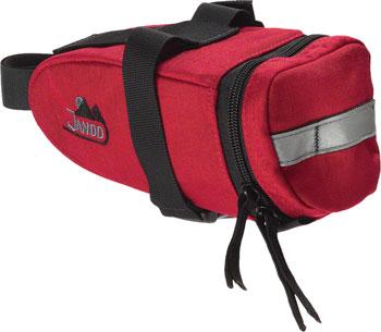 Jandd Mountain Wedge 2 Seat Bag: Red