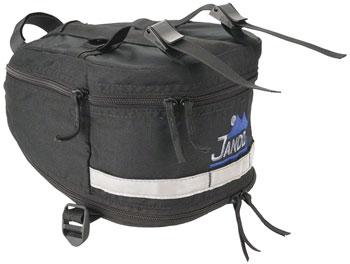 Jandd Mountain Wedge 3 Seat Bag: Black