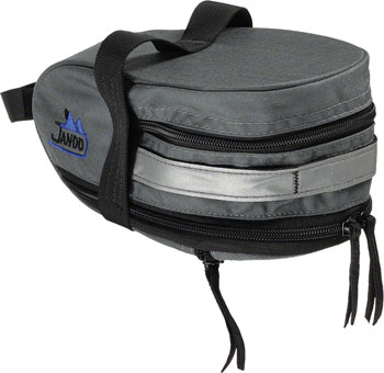 Jandd Mountain Wedge Expandable Seat Bag: Gray