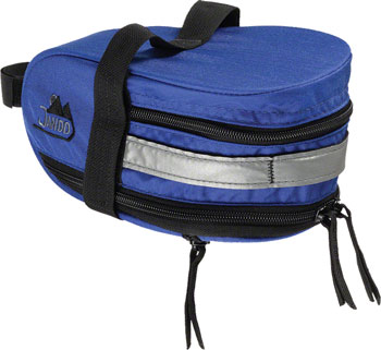 Jandd Mountain Wedge Expandable  Seat Bag: Blue
