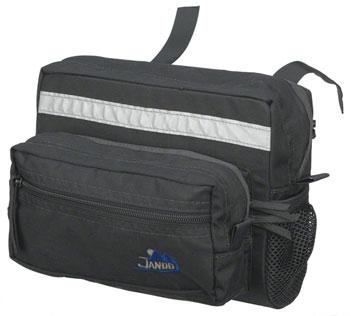 Jandd Mountain 2 Handlebar Bag: Black