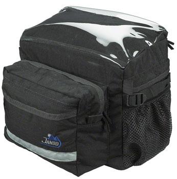 Jandd Touring 2 Handlebar Bag: Black