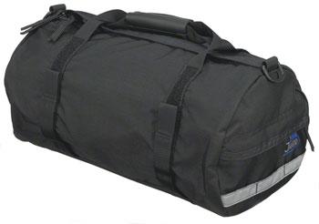 Jandd Duffel Rack Pack with Shoulder Strap: Black