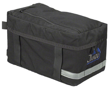 Jandd Rack Bag Economy: Black