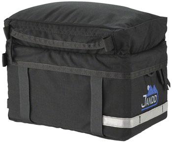 Jandd Rack Bag: Black
