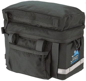 Jandd Rack 2 Bag: Black