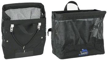 Jandd Grocery Bag Pannier: Single Black