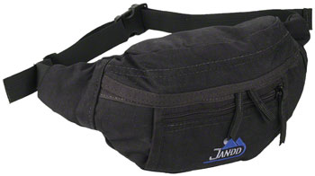 Jandd Micro 2 Fanny Pack: Black