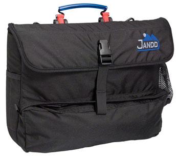 Jandd Laptop Pannier: Single Black