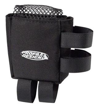 Profile Design E-Pack Top Tube/Stem Bag: Black, SM