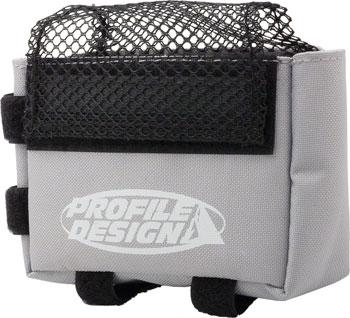 Profile Design E-Pack Top Tube/Stem Bag: Gray, LG