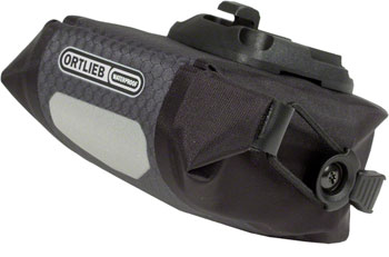 Ortlieb Micro Saddle Bag: Slate/Black
