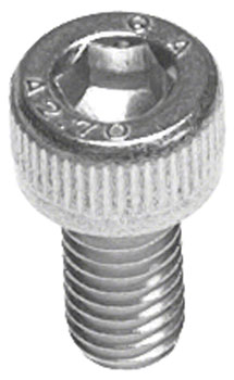 M5 x 10.0mm Stainless Socket Cap Head Bolt: Bag/20
