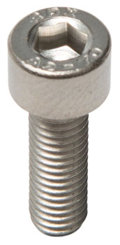 M5 x 16.0mm Stainless Socket Cap Head Bolt: Bag/20