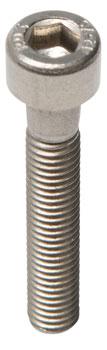 M5 x 30.0mm Stainless Socket Cap Head Bolt: Bag/10