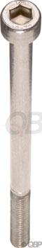 M5 x 80.0mm Stainless Socket Cap Head Bolt: Bag/5