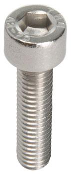 M6 x 25.0mm Stainless Socket Cap Head Bolt: Bag/10