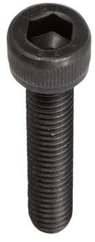 M6 x 30.0mm Socket Cap Head Bolt: Bag/10