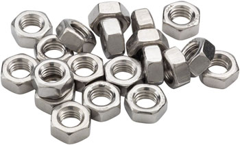 M5 Nut, Stainless: Bag/20