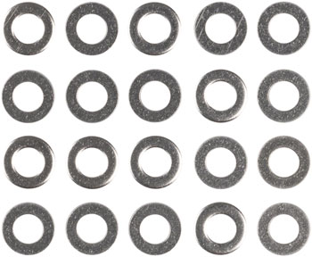 M5 Stainless Flat Washer: Bag/20