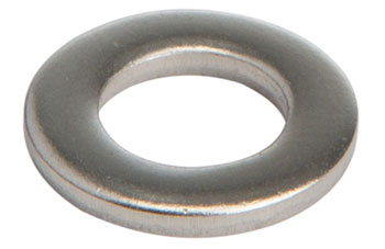M6 Stainless Flat washer: Bag/20