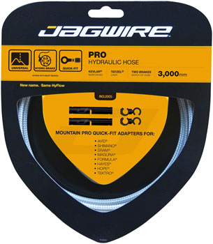 Jagwire Pro Hydraulic Disc Brake Hose Kit 3000mm, Sterling Silver