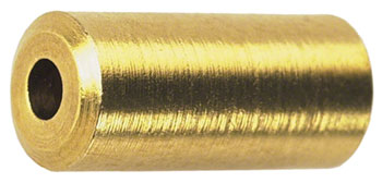 Wheels Manufacturing Housing End Caps: 5mm Brass, Bottle of 50
