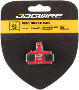 Jagwire Sport Semi-Metallic Disc Brake Pads for Shimano M9000, M9020, M985, M8000, M785, M7000, M666, M675, M615, S700, R785, RS785, CX77, C