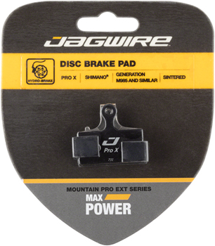 Jagwire Pro Extreme Sintered Disc Brake Pads for Shimano M9000, M9020, M985, M8000, M785, M7000, M666, M675, M615, S700, R785, RS785, CX77,