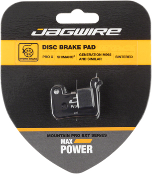 Jagwire Mountain Pro Extreme Sintered Disc Brake Pad for Shimano XTR M965, M966, M596