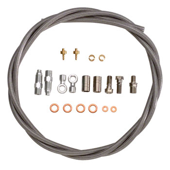 Hope Stainless Hose Kit by Goodridge with Fittings