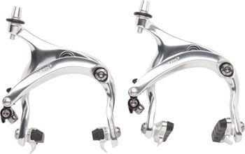 Tektro R559 Long Reach Road Calipers 55-73mm Nutted Mounting Bolts, Silver