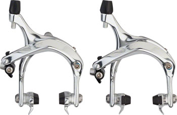 Tektro R737 Long Reach Road Caliper Set, 47-59mm, Silverë_
