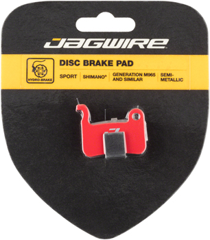 Jagwire Mountain Sport Semi-Metallic Disc Brake Pads for XTR M965, Saint M800, XT M765