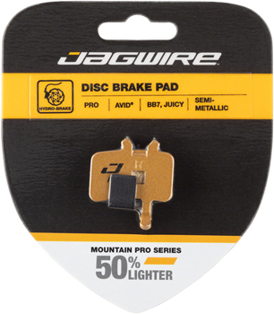 Jagwire Mountain Pro Alloy Backed Semi-Metallic Disc Brake Pads for Avid BB7, All Juicy Models