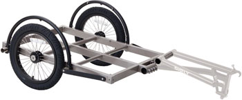 Surly Ted Trailer: Short Bed, 16 Wheels, Gray